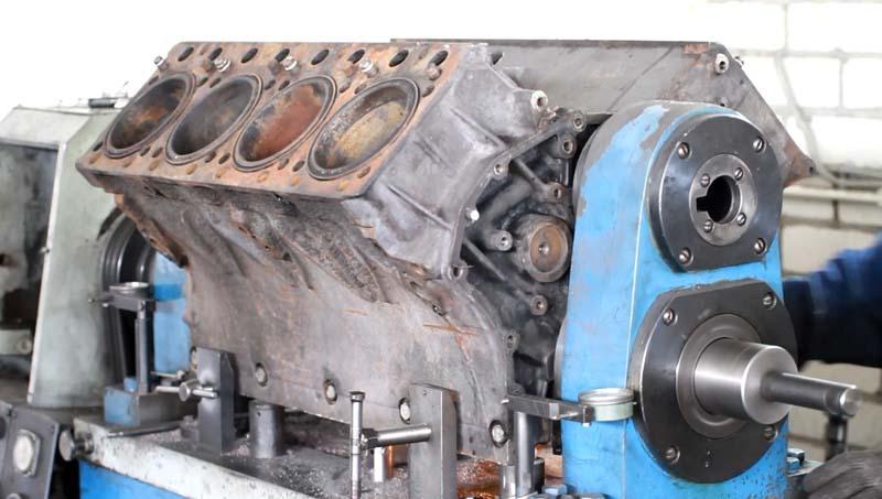 Расточка блока двигателя Камаз